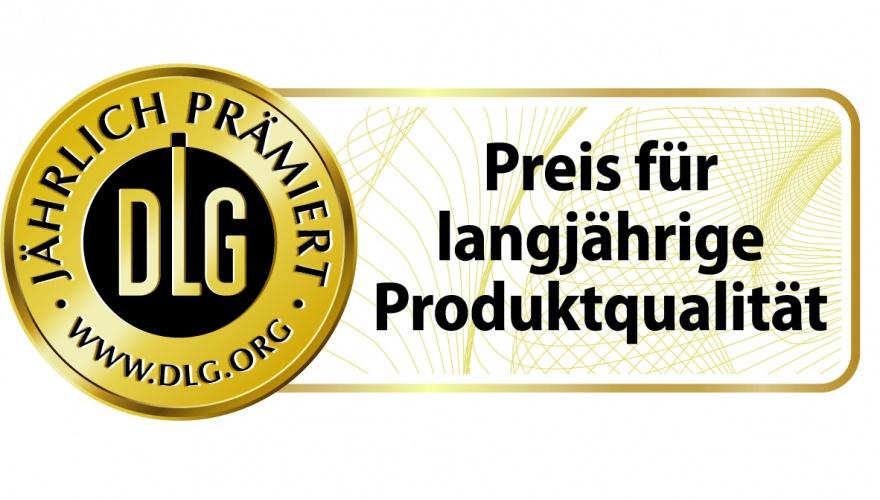 Preis für langjährige Produktqualität